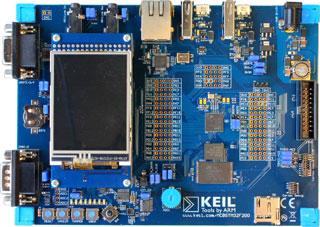 MDK5 - Keil MCBSTM32F200