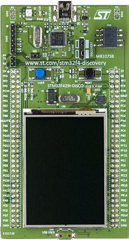 MDK5 - STMicroelectronics STM32F429I-Discovery
