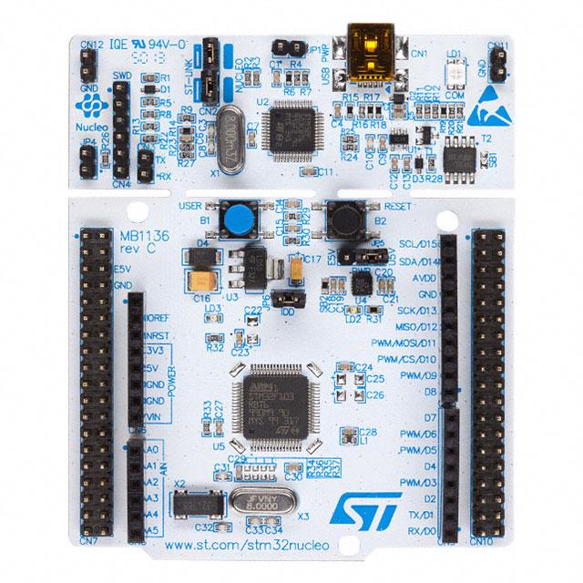 MDK5 - STMicroelectronics NUCLEO-F401RE
